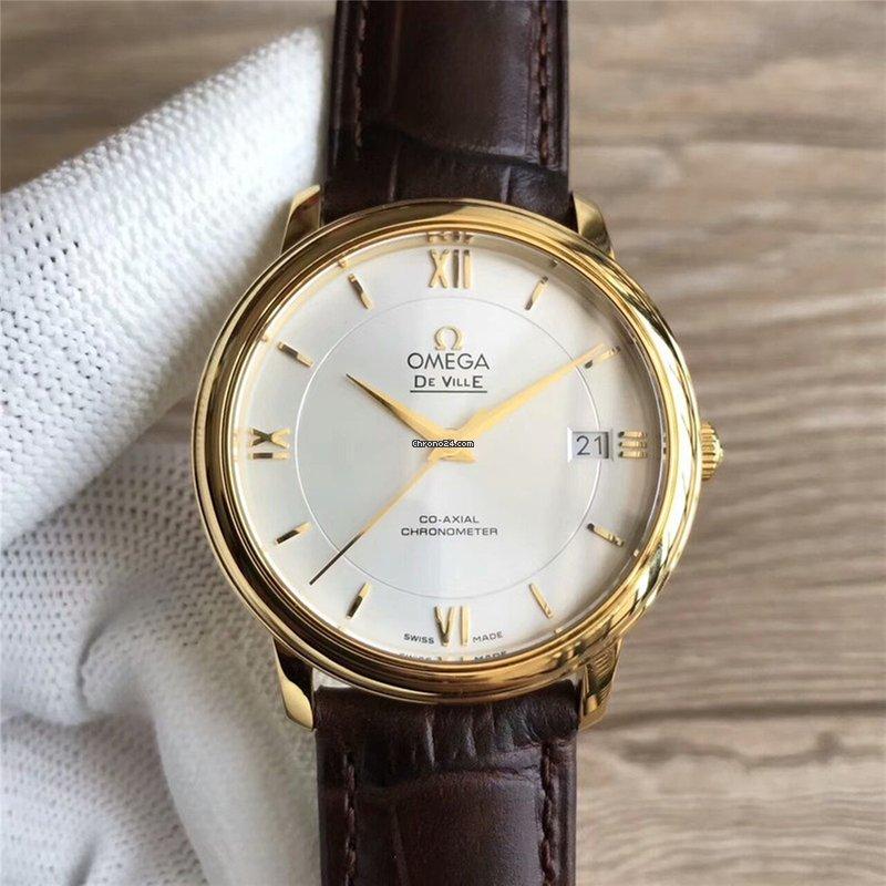 fcdd0a81b9b Omega De Ville Ouro amarelo - Todos os preços de relógios Omega De Ville  Ouro amarelo na Chrono24