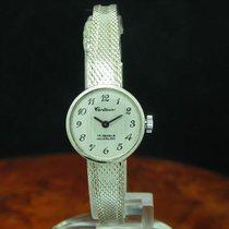 Centaur 800 Silber Handaufzug Damenuhr Limitierte Auflage /...