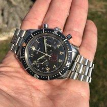 Bulova Marine Star vintage chronograph Cairelli case