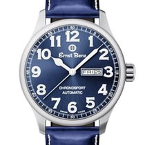 Ernst Benz Steel 44mm Automatic GC40214 new