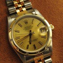 Rolex Datejust Diamant Lünette Medium Stahl Gold