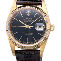 Rolex Oyster Datejust Yellow Gold 36 mm (Full Set 1986)
