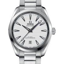 Omega Seamaster Aqua Terra Steel 38mm Silver No numerals United Kingdom