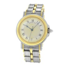 Breguet pre-owned Automatic 34mm Gold Sapphire crystal