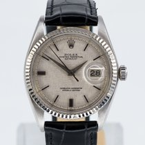 Rolex Beautiful vintage Datejust 1601 - Rare linen dial
