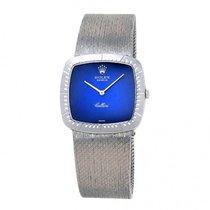 Rolex Cellini 18k White Gold Mechanica Hand Winding Ladies Watch