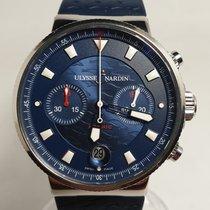 Ulysse Nardin Blue Seal Ocel 41mm Modrá Bez čísel