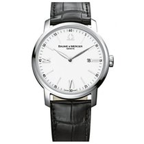 Baume & Mercier 42.00mm Quartz new Classima White