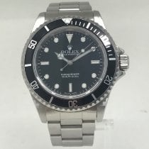 Rolex Submariner (No Date) pre-owned 40mm Steel