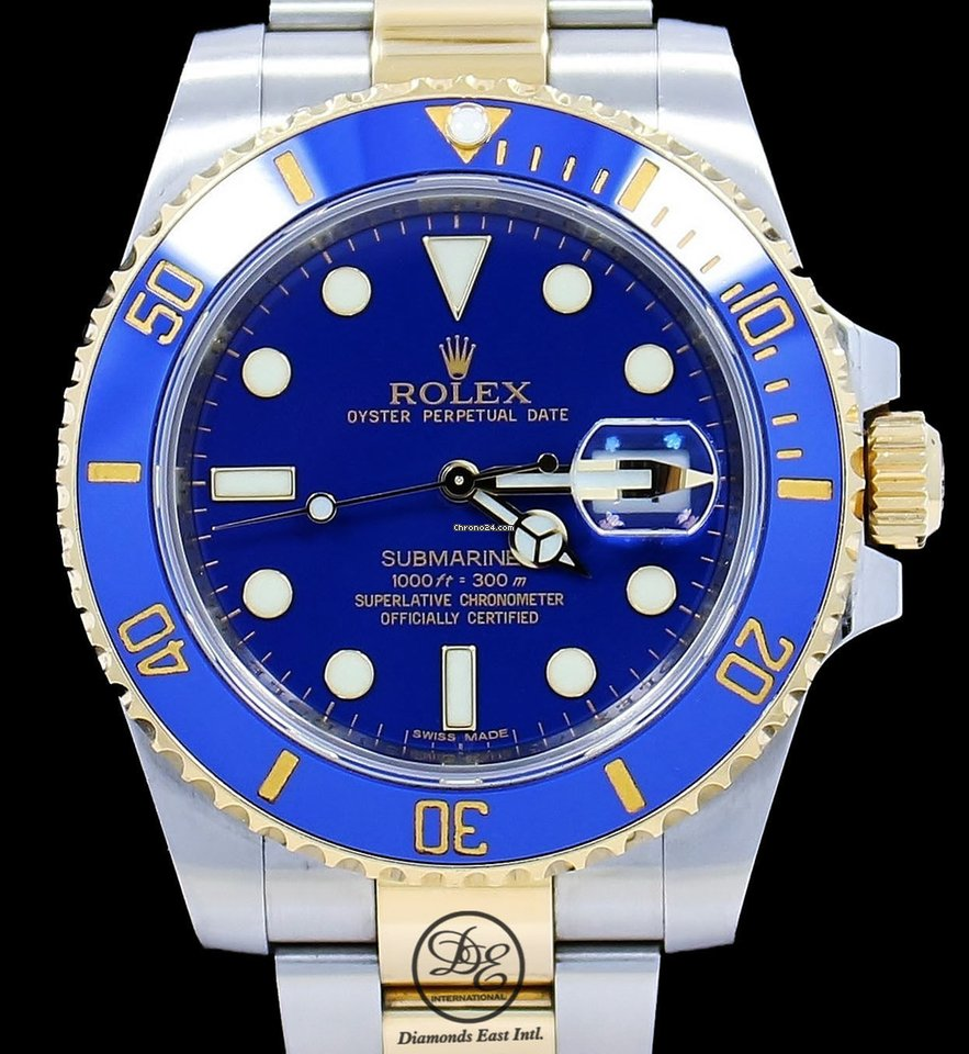 Rolex Submariner Date 116613 pre-owned