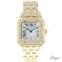 Cartier Geelgoud 27mm Quartz WJPN0016 tweedehands Nederland, Maastricht