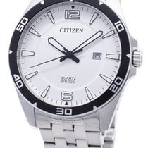 Citizen Steel 42mm Quartz BI5051-51A new