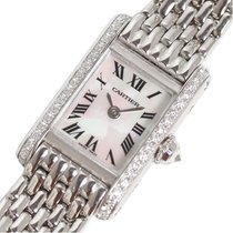 Cartier Tank (submodel) White gold 16mm Pink