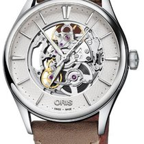 Oris Artelier Skeleton 01 734 7721 4051-07 5 21 32FC 2019 new
