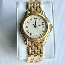 Cartier Cougar Yellow gold 33mm Champagne Roman numerals United Kingdom, LONDON