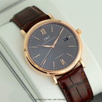 IWC Portofino Automatic Rose gold 40mm Grey United States of America, New York, Airmont