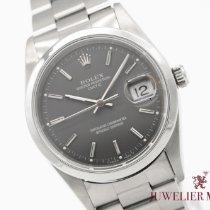 Rolex Oyster Perpetual Date Stahl 34mm Grau Keine Ziffern Deutschland, München