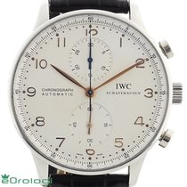 IWC Portuguese Chronograph IW371401 --- 2008 2008 pre-owned