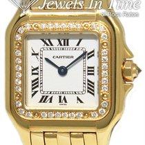 Cartier Panthère Gelbgold 22mm Silber Römisch