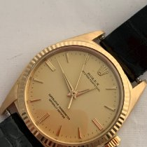 Rolex Oyster Perpetual Or jaune Argent