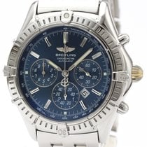 Breitling Shadow Flyback Zeljezo 38mm Plav-modar