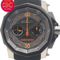 Corum Admiral's Cup Challenger occasion 48mm Gris Chronographe Date Textile