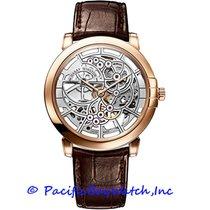 Harry Winston new Automatic Skeletonized 42mm Rose gold Sapphire Glass