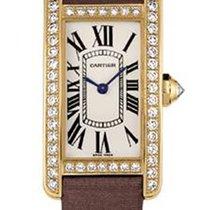 Cartier Tank Américaine новые 2017 Кварцевые Часы с оригинальными документами и коробкой WB707231