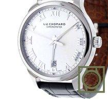Chopard L.U.C 1937 Silver Dial 42mm Crocodile Strap NEW
