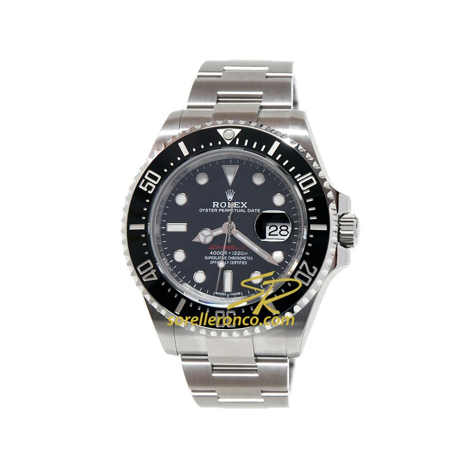 rolex sea dweller 50th anniversary oyster black dial 43 mm for price on request for sale from a. Black Bedroom Furniture Sets. Home Design Ideas