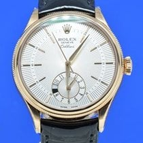 Rolex 18KT RG ROLEX CELLINI DUAL TIME CELL