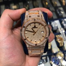 Hublot Classic Fusion 45, 42, 38, 33 mm Rose gold 42mm United States of America, New York, New York