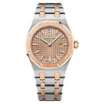 Audemars Piguet Royal Oak Lady Rose Gold and Steel Pink Dial 33mm