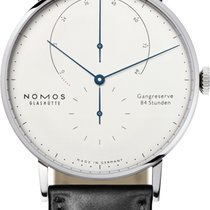 NOMOS White gold 42mm Manual winding Lambda new