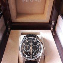 Zenith El Primero 36'000 VpH Acier 42mm Noir Sans chiffres France, PARIS 17