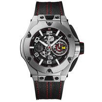 Hublot Big Bang Ferrari new 2019 Manual winding Watch with original box and original papers 402.NX.0123.WR
