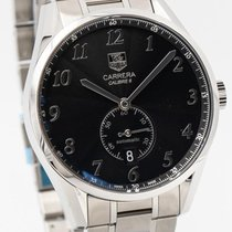 TAG Heuer Carrera Automatic WAS2110.BA0732 - 39mm Black Dial...
