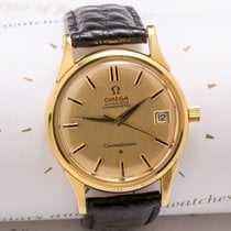 Omega Constellation  Deluxe 18 Gold dennison case