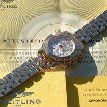 Breitling nuevo Automático Segundero central Segundero pequeño Números luminosos Agujas luminosas Cronómetro Luneta a rosca Corona atornillada Pulsador a rosca Índices luminosos 41mm Oro rojo Cristal de zafiro