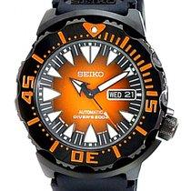 Seiko Monster Steel 41mm Orange