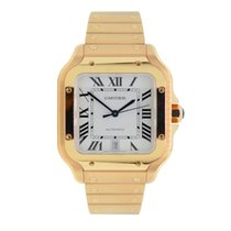 Cartier Santos (submodel) WGSA0007 pre-owned
