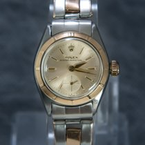 Rolex Oyster Perpetual Lady Gold/Steel Rare sub-seconds - 6509
