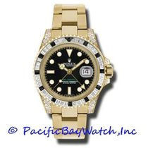 Rolex 116758 SANR Yellow gold GMT-Master II 40mm