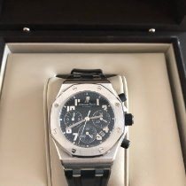 Audemars Piguet Chronograaf 42mm Automatisch 2013 nieuw Royal Oak Offshore Lady Zwart