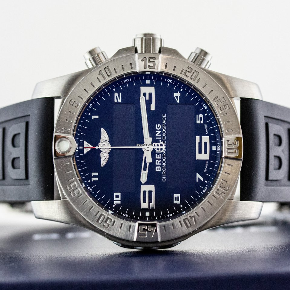Breitling Exospace B55 Connected eb5510h1/be79/155s.e new