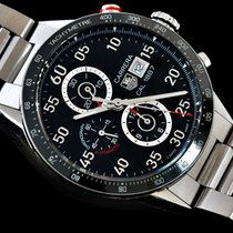 TAG Heuer Carrera Calibre 1887 Steel 43mm Black Arabic numerals United Kingdom, Tipton