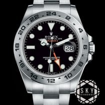 Rolex Explorer II Steel 42mm Black No numerals United States of America, New York, NEW YORK