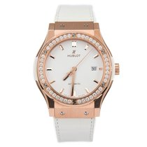 Hublot Classic Fusion 45, 42, 38, 33 mm Rose gold 42mm White No numerals United States of America, California, Beverly Hills