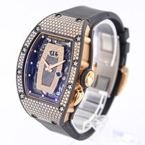 Richard Mille Rotgold 34mm Automatik RM037RG-CA gebraucht