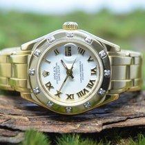 Rolex Lady-Datejust Pearlmaster 29mm Weiß Deutschland, Hamburg